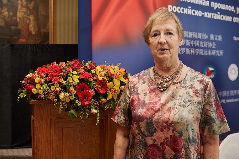 俄罗斯科学院远东所高级研究员 阿拉·维尔钦克