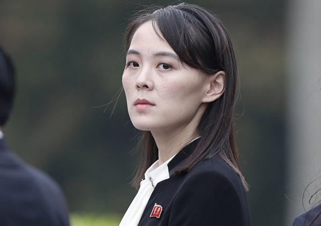朝鮮領導人金正恩的妹妹金與正