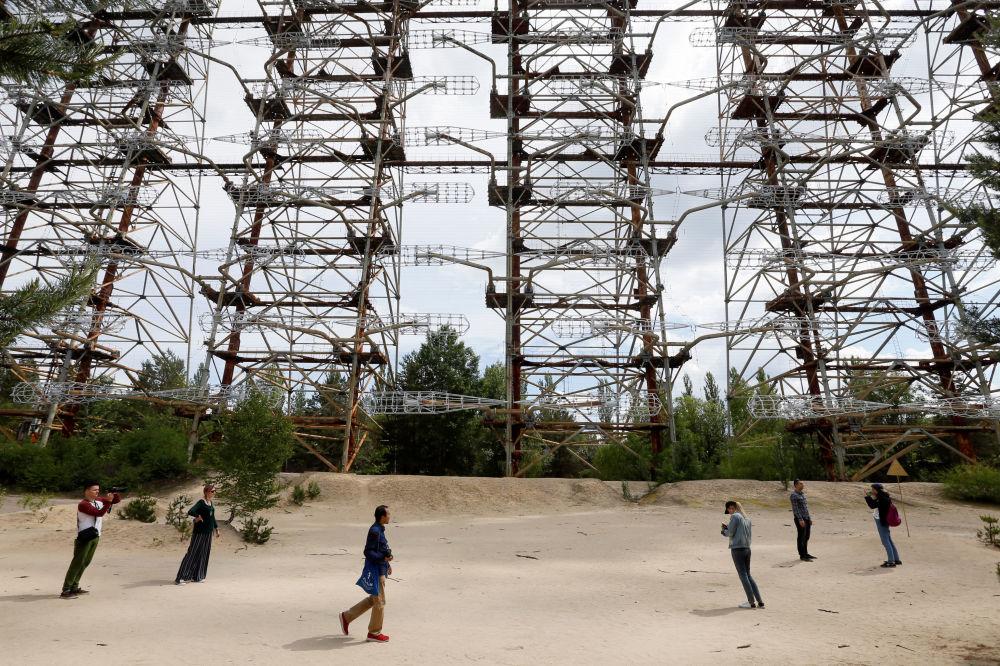切尔诺贝利核电站旅游热
