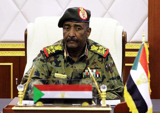 苏丹过渡军事委员会主席阿卜杜勒·法塔赫·布尔汉
