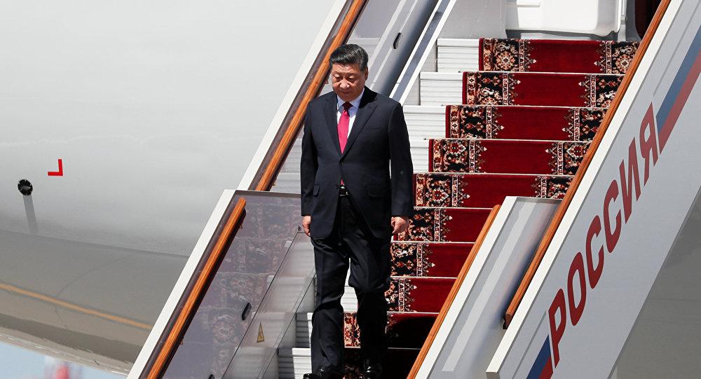 習近平抵達莫斯科,開啓國事訪問