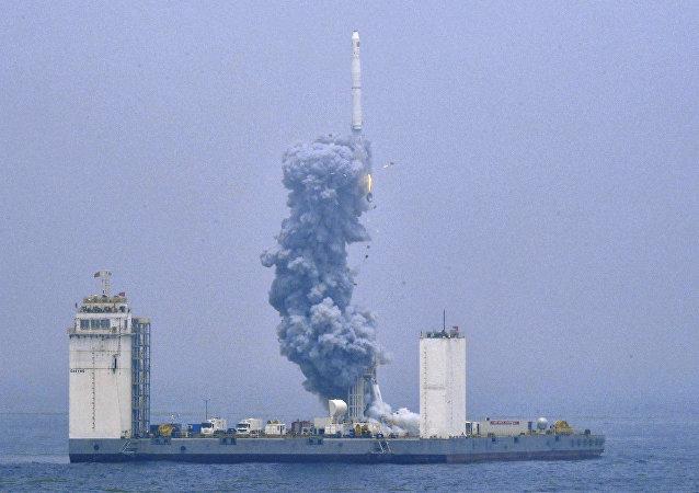 俄专家:中国运载火箭海上发射是世界级成功