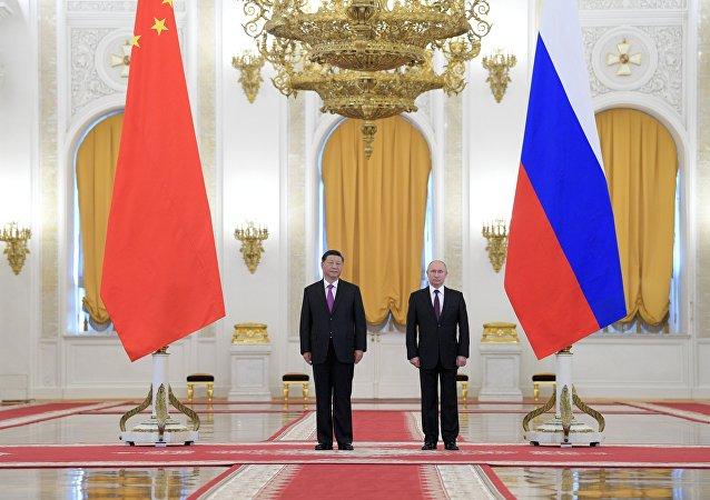 普京:俄中在全球关键问题上的立场一致