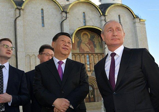 普京:莫斯科红场中国游客最多