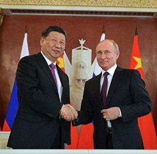 Путин Си Цзиньпин