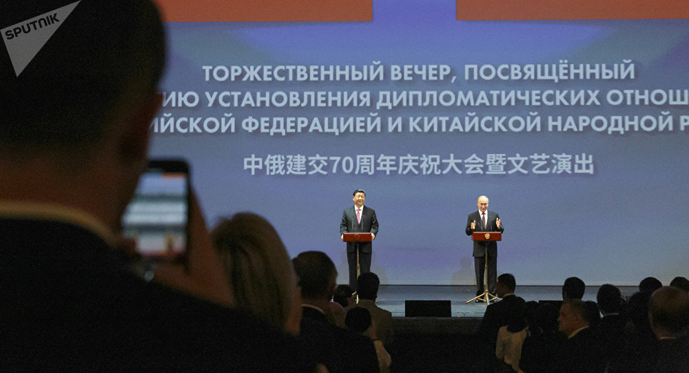 京確信俄中協作將使全世界受益