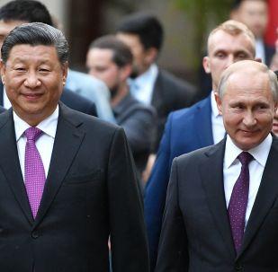 普京:俄中在國際舞台合作是重要的穩定因素