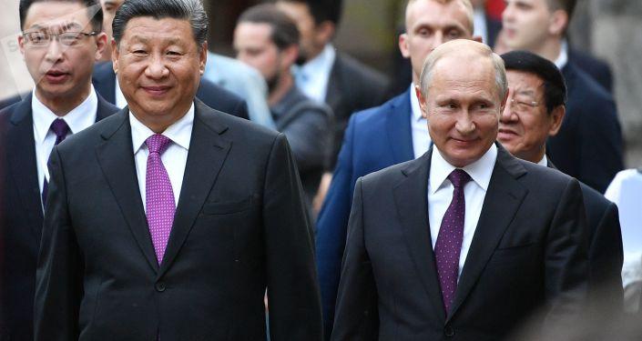 普京:俄中在国际舞台合作是重要的稳定因素