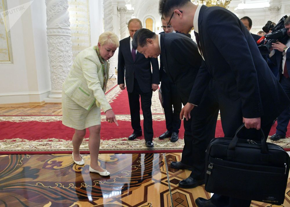 習近平訪問俄羅斯