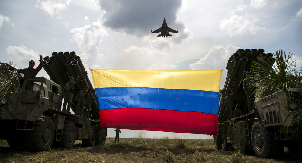 委内瑞拉空军的Sukhoi Su-30MKV战机