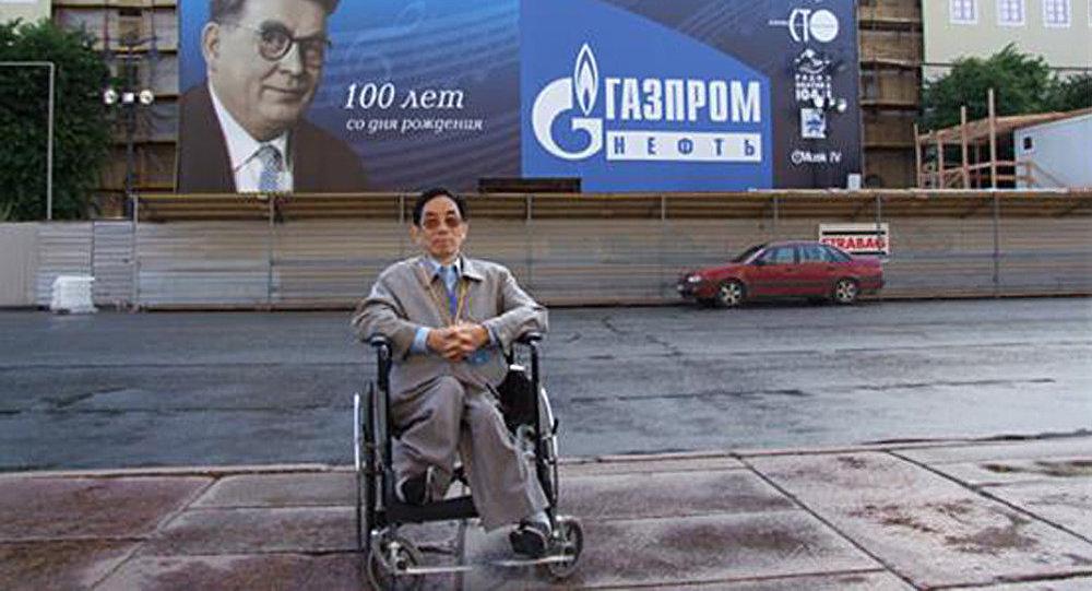 薛範,2007年6月20日攝於聖彼得堡