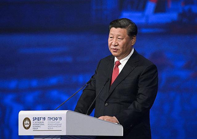 """习近平:可持续发展是破解当前全球性问题的""""金钥匙"""""""