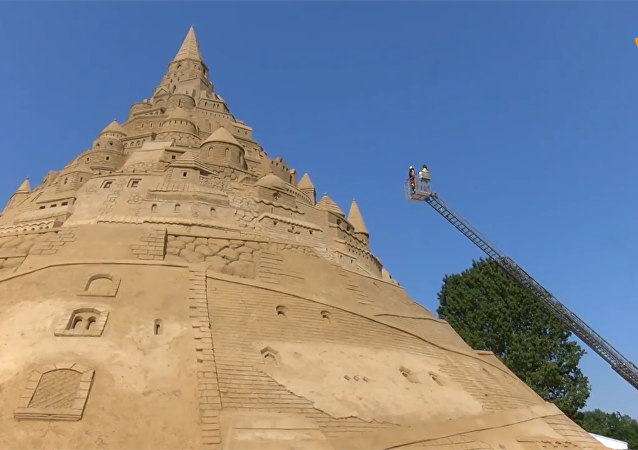 吉尼斯世界紀錄:德國世上最高之沙堡