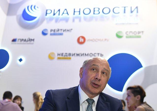 金砖国家新开发银行(新开行)副行长卡兹别科夫