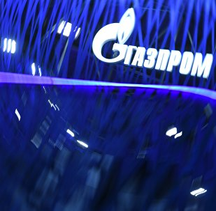 Стенд компании Газпром на Петербургском международном экономическом форуме 2019 (ПМЭФ-2019).