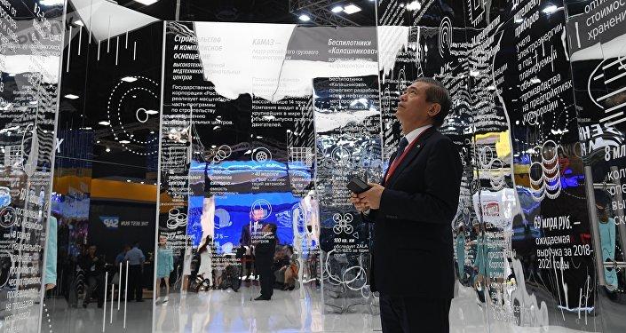 Участник Петербургского международного экономического форума 2019 (ПМЭФ-2019).