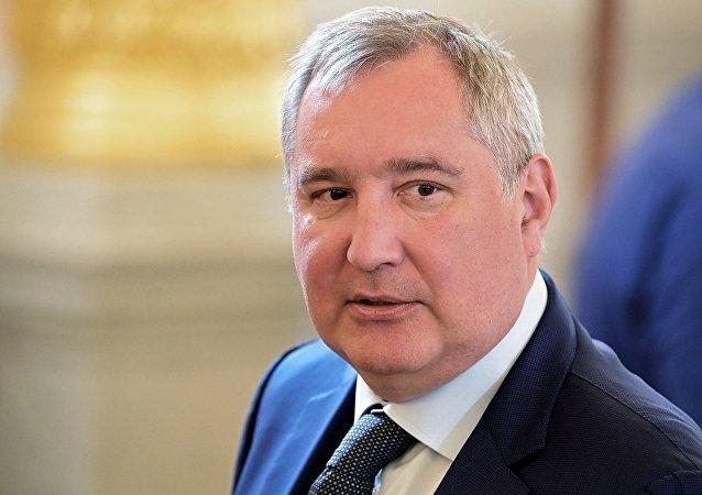 俄羅斯航天集團公司總裁德米特里∙羅戈津(資料圖片)