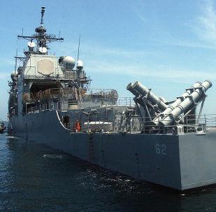 美军导弹巡洋舰钱瑟勒斯维尔号(USS Chancellorsville)