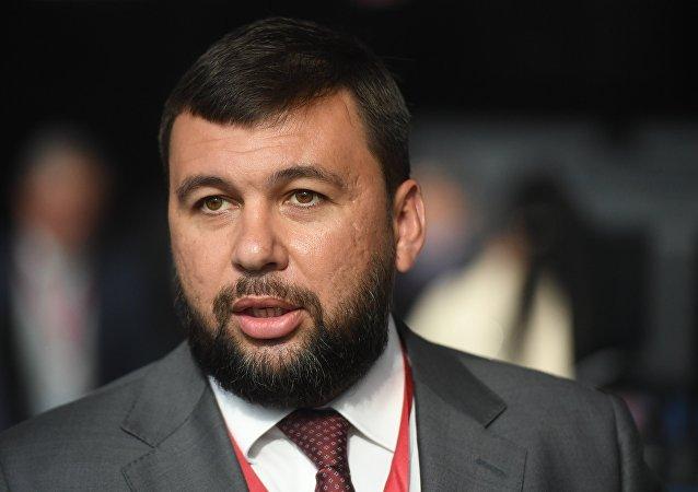 顿涅茨克人民共和国领导人普希林