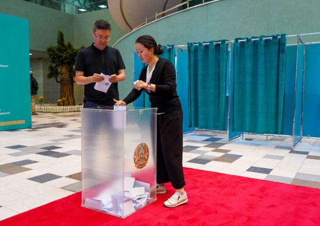 哈央选委:哈萨克斯坦总统选举最终投票率为77.4%