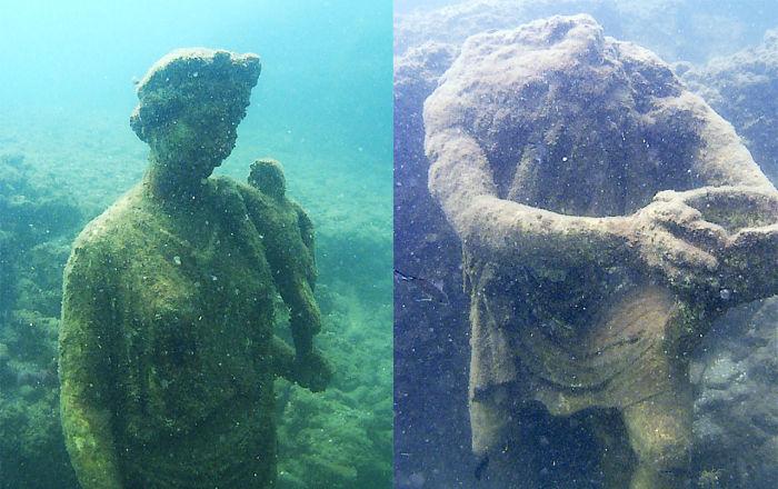 沉没的水下世界