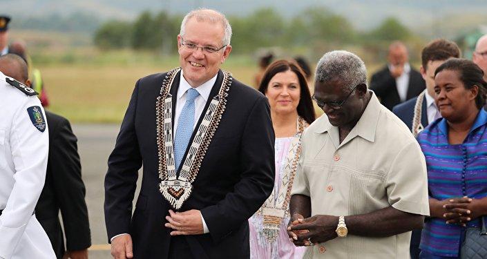 澳大利亞總理將所羅門群島推向中國