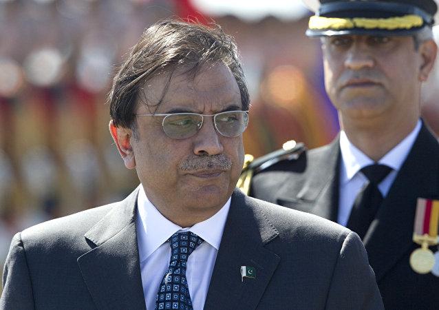 Экс-президент Пакистана Асиф Али Зардари