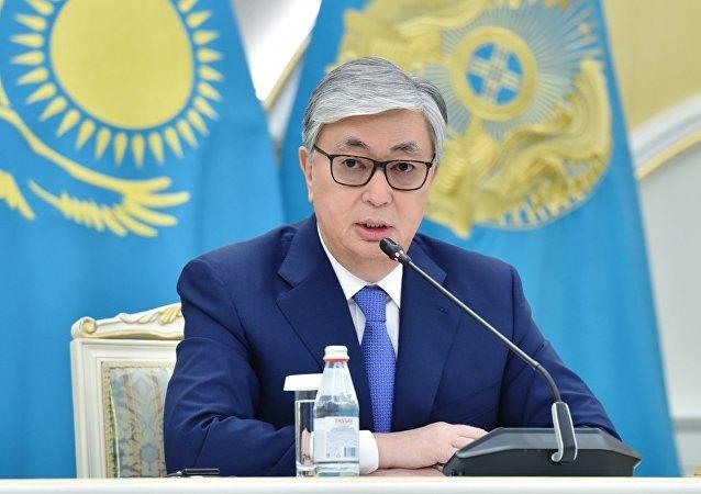 哈薩克斯坦總統卡西姆•朱馬特•托卡耶夫