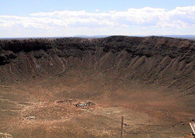 科學家發現古老隕石坑