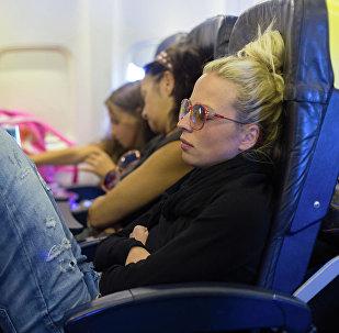 一名女乘客在加拿大被遺忘在飛機上