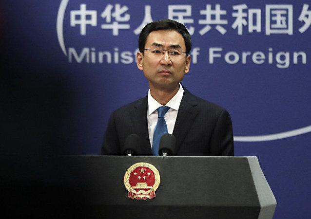 """中国外交部:坚决反对美国会众议院通过""""香港人权与民主法案"""""""