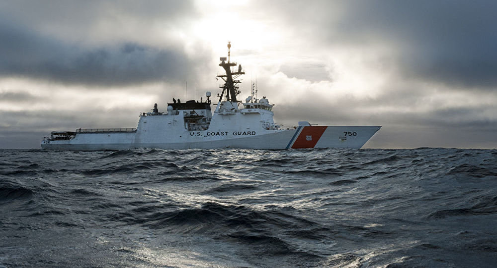 The national security cutter USCGC Bertholf (WMSL 750)