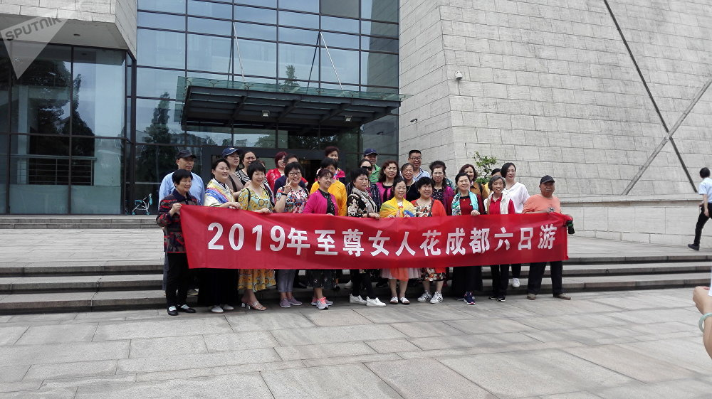 人口上千万的成都是中国旅游市场的主要方向。