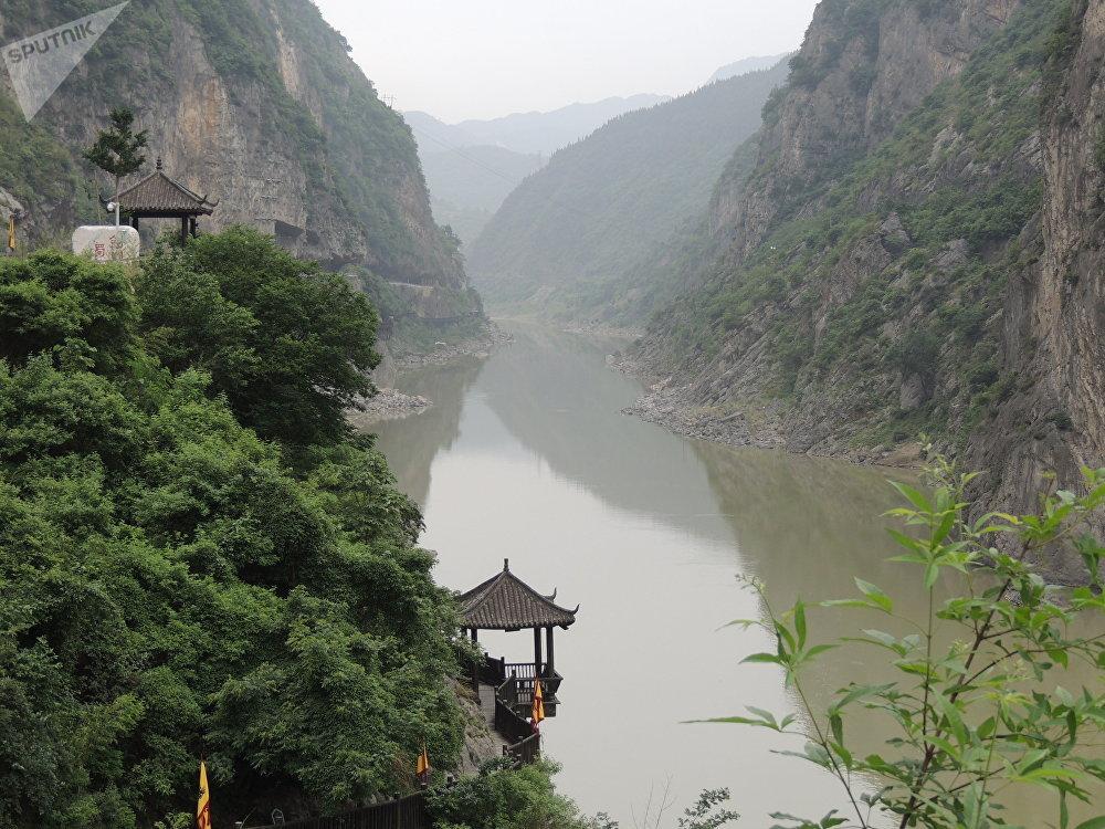 明月峡是广元市的主要风景区之一。
