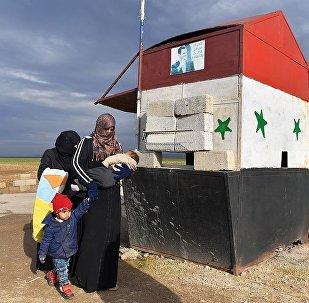 叙利亚伊德利卜省Abu al-Duhur检查站