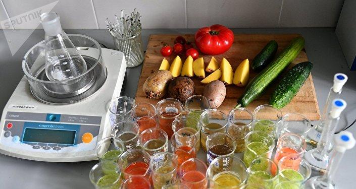俄罗斯消费监督局实验室对蔬菜食品进行检查