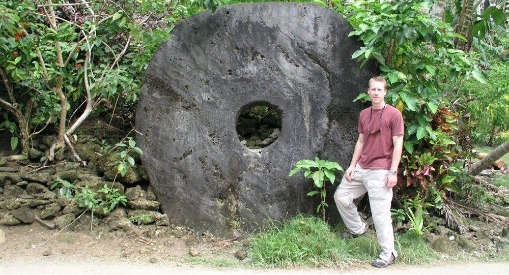 密克罗尼西亚亚普岛上的神秘石头疑似比特币