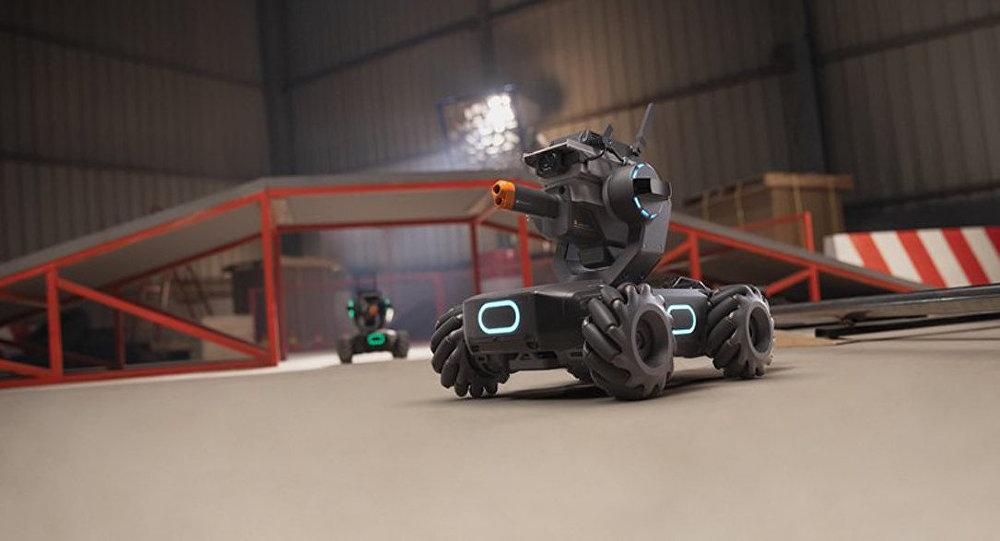 坦克教编程?大疆发布教育机器人机甲大师 S1