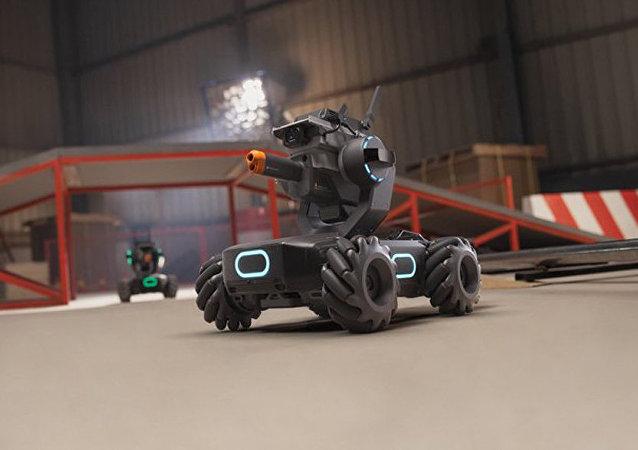 坦克教編程?大疆發佈教育機器人機甲大師 S1