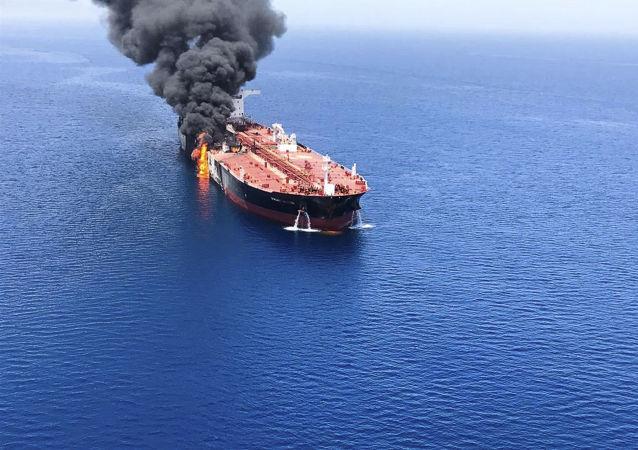 俄驻伊朗使馆: 阿曼湾油轮事件获救俄方海员无恙