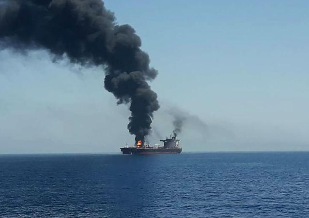 特朗普:伊朗是攻击阿曼湾油轮的幕后黑手