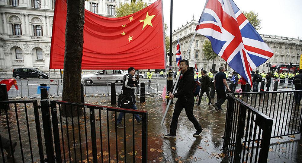 中英簽署價值5億英鎊的交易合同