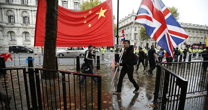 中英签署价值5亿英镑的交易合同