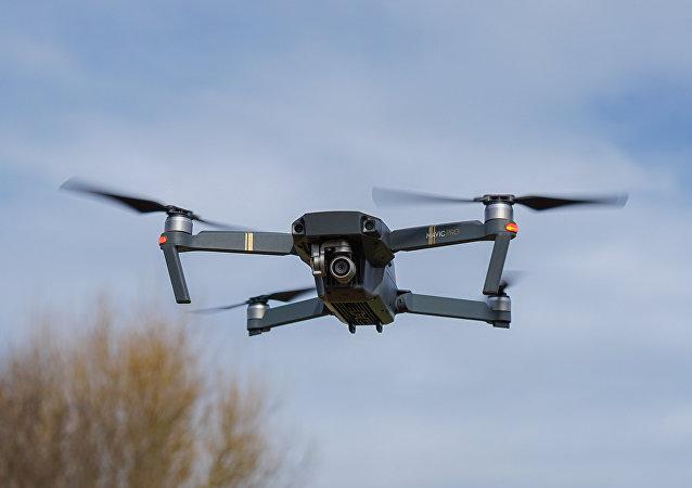 一架「Mavic」式無人機