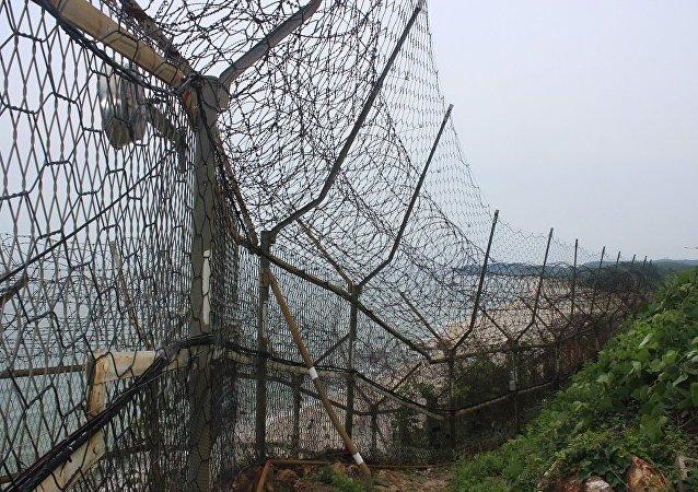 在韓國最北端:韓朝東部邊界看上去是甚麼樣子