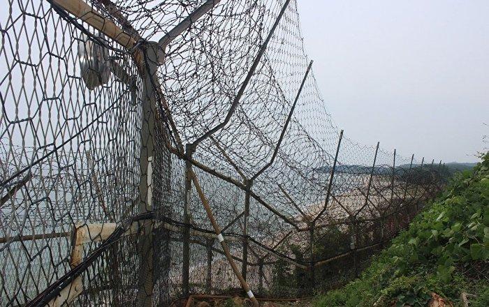 在韩国最北端:韩朝东部边界看上去是什么样子
