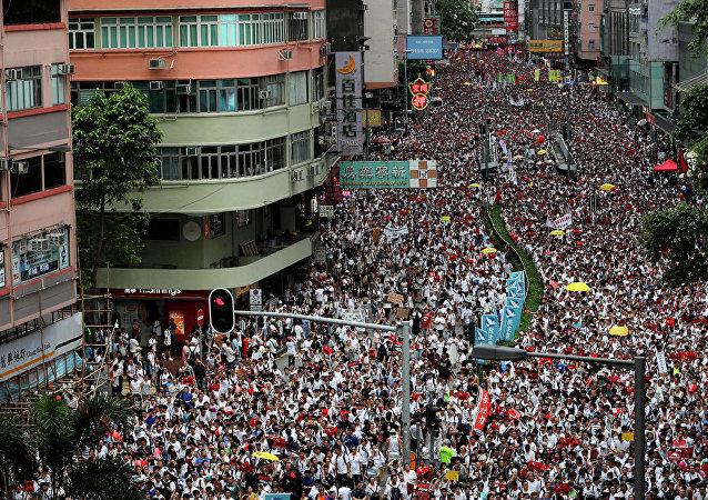 俄外交部呼籲俄公民避免前往香港人流密集地區