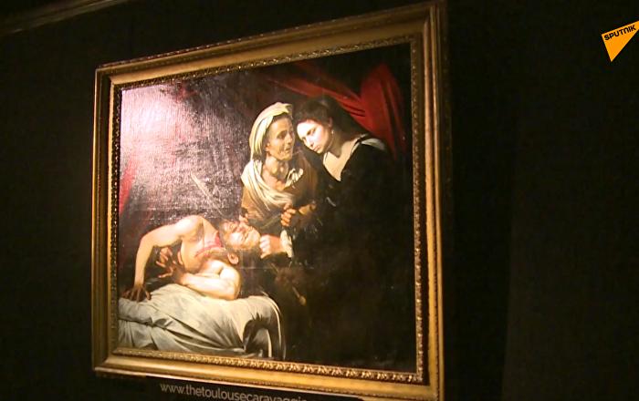 卡拉瓦乔画作在巴黎进行拍卖