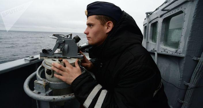 """俄太平洋舰队为迎台风""""罗莎""""启动风暴戒备机制"""