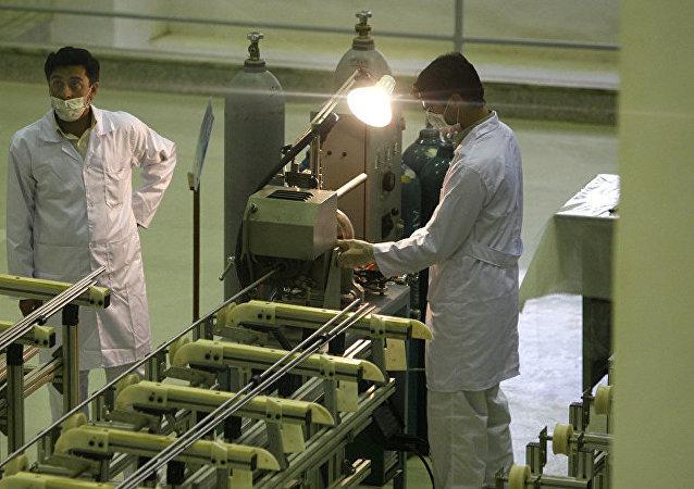 伊朗核能组织代表称伊朗提高浓缩铀丰度至4.5%